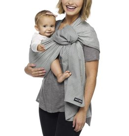 Moby Wrap Moby Ring Sling - Silver Streak
