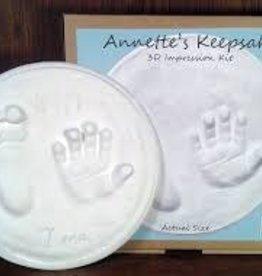 "Annette's Keepsakes Annette's Keepsakes - 7"" Impression Kit (large)"