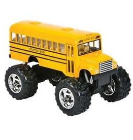 Schylling Die-Cast Big Wheel School Bus