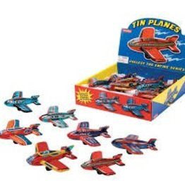 Schylling Schylling - Tin Friction Plane Assorted