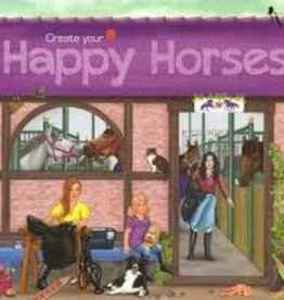 Schylling Happy Horses Sticker Book
