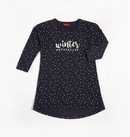 Petit Lem Petit Lem - Winter Wonderland w Dots Nightgown