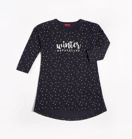 Petit Lem Petit Lem - Winter Wonderland w Dots Nightgown
