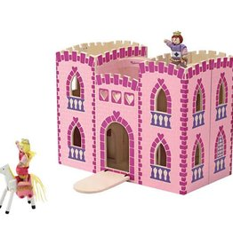 Melissa & Doug M&D - Fold & Go Princess Castle