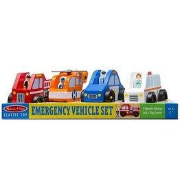 Melissa & Doug M&D Emergency Vehicle Set