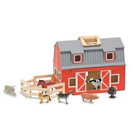 Melissa & Doug M&D - Fold & Go Barn