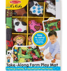 Melissa & Doug M&D - Take-Along Farm Play Mat