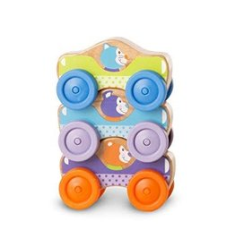 Melissa & Doug M&D - First Play Stacking Cars