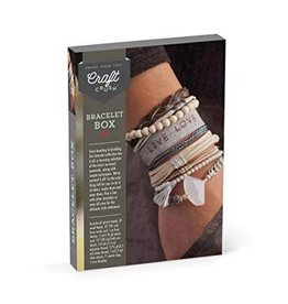 Craft Crush Craft Crush - Bracelet Box Neutrals