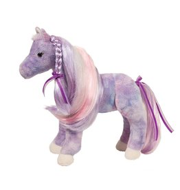 Douglas Douglas - Violet Princess Purple Horse w Hairbrush