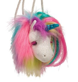 Douglas Douglas - Rainbow Unicorn Fur Fuzzle Crossbody Purse