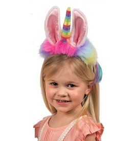 Douglas Douglas - Llamacorn Dreamy Headband w Pastel Rainbow Horn