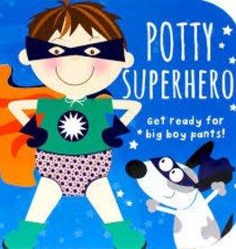 Cottage Door Press Potty Superhero Board Book
