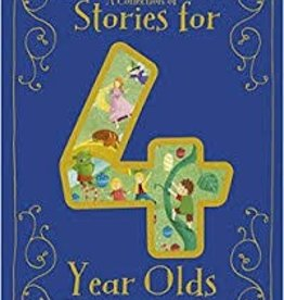 Parragon A Collection of Stories for 4 Year Olds Hard Cover - A Beautiful Treasury (93 pages)