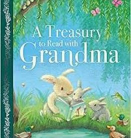 Parragon A Treasury to Read with Grandma Hard Cover - A Beautiful Treasury (192 pages)
