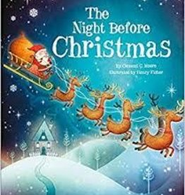 Parragon The Night Before Christmas - Hard Cover - Early Reader