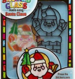 Melissa & Doug M&D - Stained Glass - Made Easy - Santa Claus
