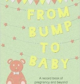 From Bump To Baby - Pregnancy Record Book