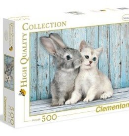 Clementoni Clementoni - 500 pc Bunny and Kitten Puzzle