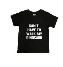 Portage & Main Portage & Main - Have to Walk my Dinosaur Tee - Grey