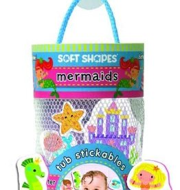iKids - Soft Shapes Tub Stickables - Mermaids