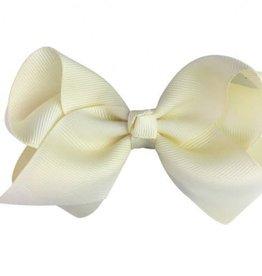 "Babywisp Babywisp - Pinch Clip - Americana 4"" Bow - Antique White"