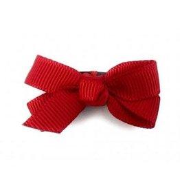 Babywisp Babywisp - Mini Latch Wisp Clip Chelsea Bow - Red