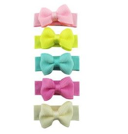 Babywisp Babywisp - Small Snap Tux Bows 5 Pack - Ice Cream Parlour