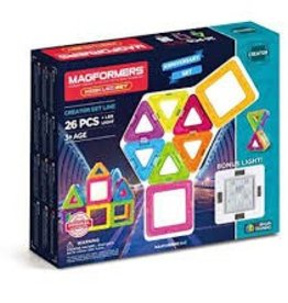 Magformers Magformers - 26pcs +LED Light