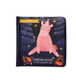 Manhattan Toy Finding Home - A Little Unicorn's Tale Board Book - Petals