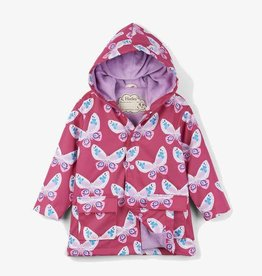 Hatley Hatley - Color Changing Decorative Butterflies Raincoat