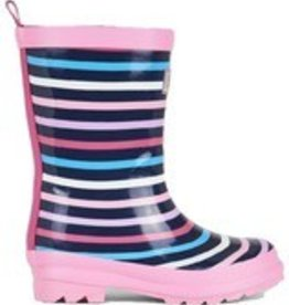 Hatley Hatley - Colorful Stripes Rain Boots