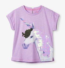 Hatley Hatley - Flip Sequin Unicorn Graphic Tee
