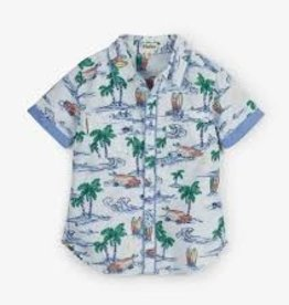 Hatley Hatley - Hawaiian Tropics Short Sleeve Button Down Shirt