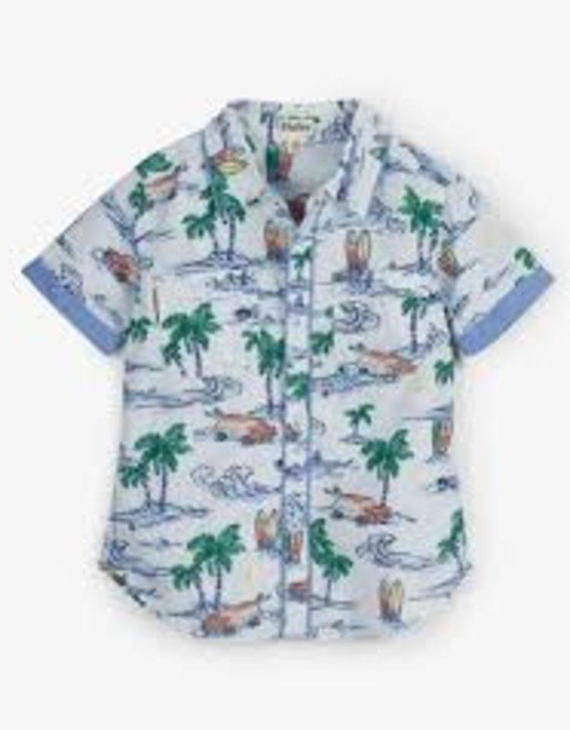 Hatley Hatley - Hawaiian Tropics Short Sleeve Button Down Shirt