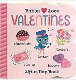 Cottage Door Press Babies Love Valentines Board Book - Lift a Flap