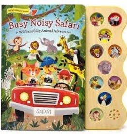 Cottage Door Press Busy Noisy Safari - Sound Board Book