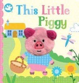 Cottage Door Press This Little Piggy - Board Book w Puppet