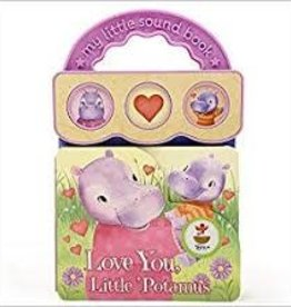 Cottage Door Press Love You, Little Potamus - Sound Board Book