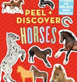 Workman Peel & Discover Horses Sticker Book