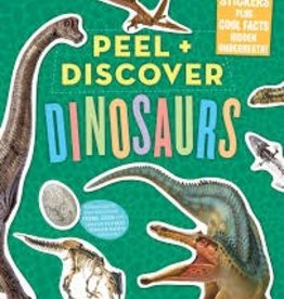 Workman Peel & Discover Dinosaurs Sticker Book