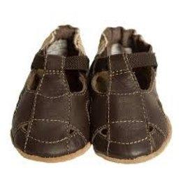 robeez Robeez - Brown Sandal Soft Soles