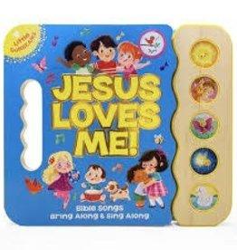 Cottage Door Press Jesus Loves Me - Sound Board Book