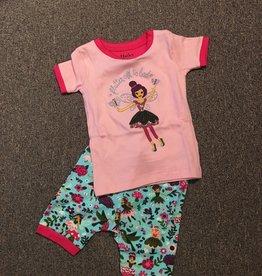 Hatley Hatley - Forest Sprites Applique Organic Cotton Short Pajama Set