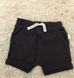 Miles Baby Miles Baby - Dark Grey Knit Short