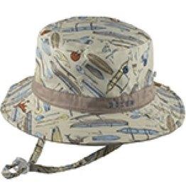 Millymook Dozer  - Baby Boy Bucket Hat - Koa Stone