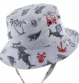 Dozer Dozer Baby Boys Bucket Hat - Kai