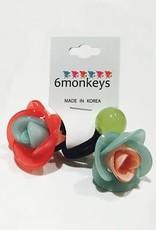 6Monkeys 6Monkeys Hair Bobbles - Solid Flowers