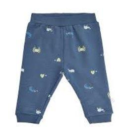 Minymo Minymo - Blue Bug Print Sweatpants