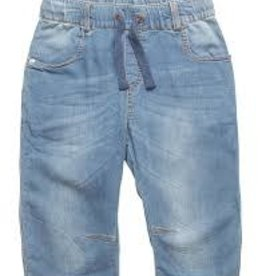 Minymo Minymo - Faded Soft Denim Bermuda Short